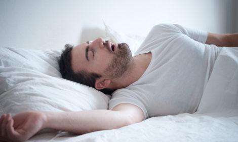 Behandling med snorkeskinne