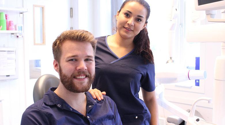 Ny tannpleier og tannlege